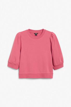 Monki Puff sleeve sweater
