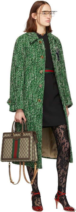 Thumbnail for your product : Gucci Black Web Tunic Dress