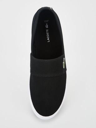 Lacoste Marice Canvas Slip-on Trainers