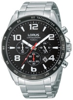 Lorus Stainless Steel Chronograph Watch Rt351cx9