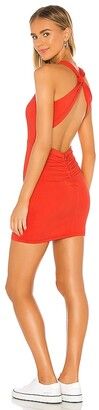 superdown Vivi Ruched Mini Dress