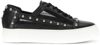 AGL Studded Low-Top Sneakers