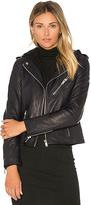 Doma Detachable Hood Moto Jacket