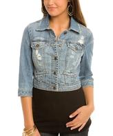 Suzy Cropped Denim Jacket