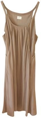 Hartford Beige Silk Dress for Women