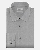 Le Château Novelty Print Cotton Slim Fit Shirt