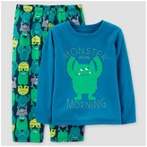 Just One You Toddler Boys' 2pc Morning Monsters Pajama Set - Just One You Made by Carter's® Blue