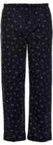 Derek Rose Skier-print Cotton Pyjama Trousers