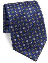 Isaia Floral Print Tie