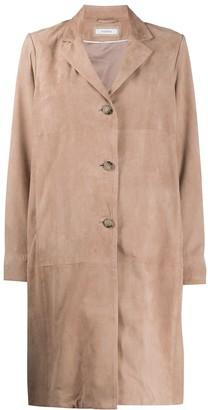 Peserico Single-Breasted Midi Coat