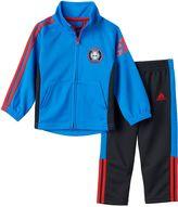 adidas Baby Boy Soccer Team Track Jacket & Pant Set