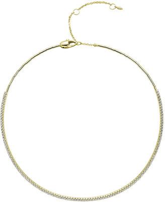 Mattia Cielo Two-Tone Diamond Choker Necklace