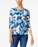 Alfred Dunner Embellished Top