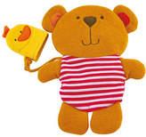 Hape Toys Teddy And Duck Bath Mitt Set