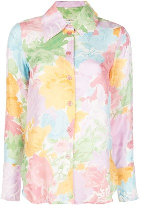 Stine Goya Rose-Print Shirt
