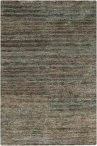 Surya Tnd1147-58 Hand Woven Casual Area Rug 5 By 8-feet Moss/slate