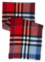Burberry Kids' Exploded Check Wool Scarf