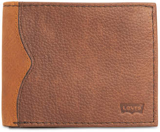 Levi's Men Robert Rfid Traveler Wallet