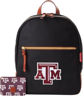 Dooney & Bourke NCAA Texas A&M Backpack w ID holder
