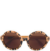 Mini Rodini leopard print sunglasses - kids - Acetate - One Size