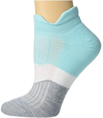 Feetures Elite Light Cushion No Show Tab (Purist Blue) Women's No Show Socks Shoes