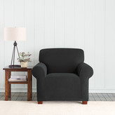 Sure Fit Stretch Pixel Armchair Slipcover
