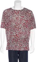 Dries Van Noten Short Sleeve Leopard Print T-Shirt