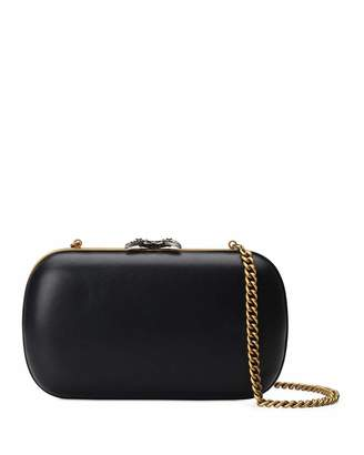 Gucci Broadway Butterfly Leather Clutch Bag