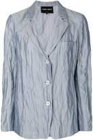Giorgio Armani creased effect blazer