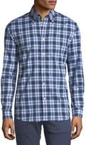 Ralph Lauren Plaid Cotton Sport Shirt