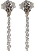 Pearls Before Swine Ssense Exclusive Silver Chain Liminal Earrings