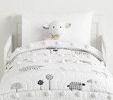 Pottery Barn Kids Shelby Sheep Toddler Quilt