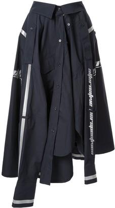 Juun.J Shirt Midi Skirt