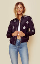 Black Orchid star bomber jacket