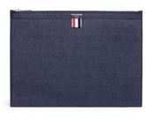 Thom Browne Medium pebble grain leather document holder