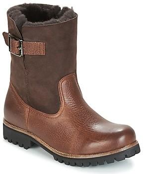 Blackstone OL05 women's Mid Boots in Brown
