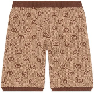 Gucci Children's GG wool shorts