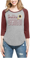 '47 Women's Washington Redskins Club Block Raglan T-Shirt