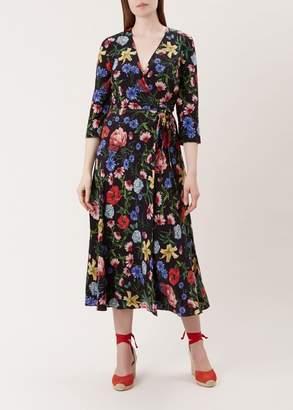 Hobbs Chelsea Silk Dress