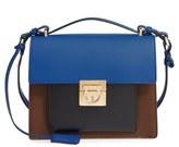 Salvatore Ferragamo 'Small Marisol' Leather Shoulder Bag - Brown