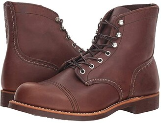 Red Wing Shoes 6 Iron Ranger Lug (Amber Harness) Men's Lace-up Boots