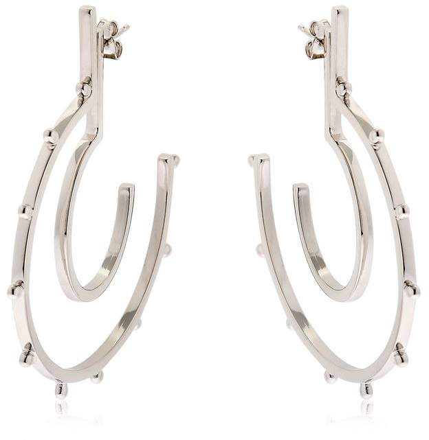 Moutton Collet Stardust Silver Earrings