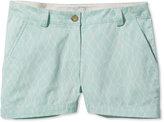L.L. Bean Signature Washed Twill Shorts, Net Print