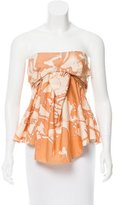 Vanessa Bruno Sleeveless Printed Top