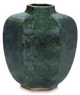 AERIN Malachite Geo Vase