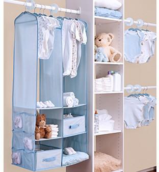 Delta Blue 24-pc. Nursery Storage Set