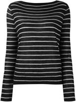 Vince cashmere striped jumper - women - Cashmere - M