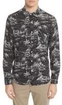 Ovadia & Sons Long Sleeve Hawaiian Shirt