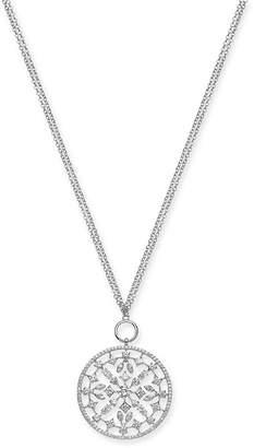 "Eliot Danori Layla Crystal Medallion 32"" Pendant Necklace"