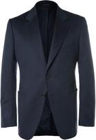 Tom Ford - Blue O'connor Slim-fit Unstructured Cashmere Blazer